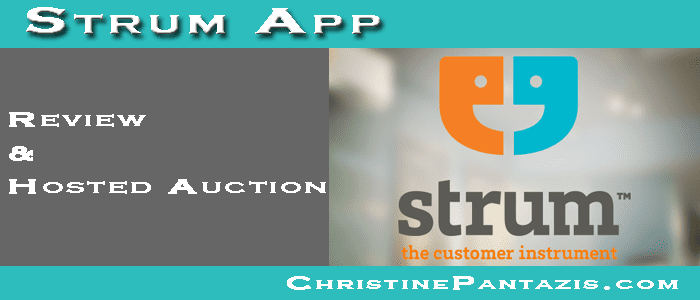 Strum App - Review and a Hosted Auction :: http://www.christinepantazis.com/strum-app-review