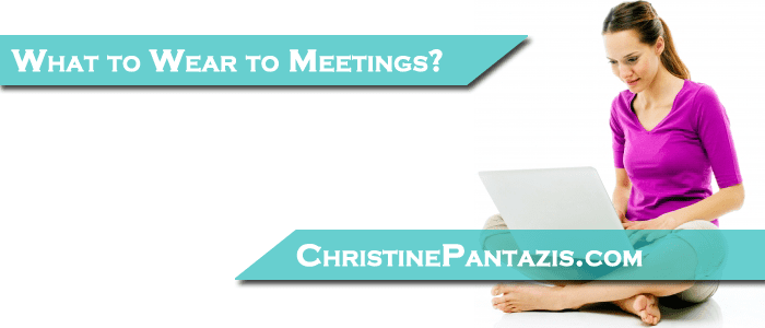 Guest Post: The Dilemma of the Self-Employed: What to Wear to a Face to Face Meeting? http://www.christinepantazis.com/guest-post-the-dilemma-of-the-self-employed-what-to-wear-to-a-face-to-face-meeting