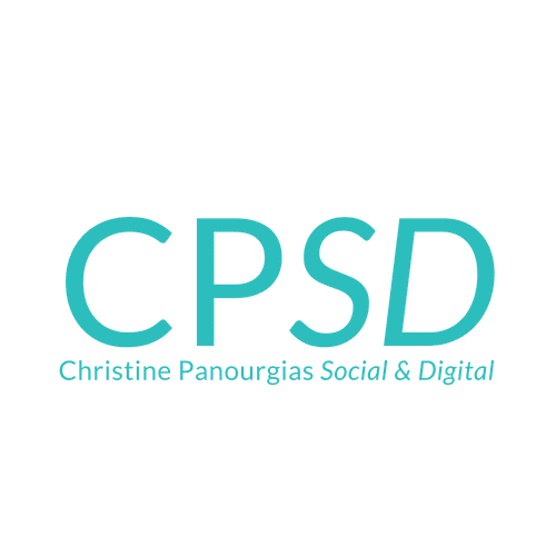 CPSD - Christine Panourgias Social and Digital - Logo transparent background