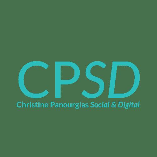 CPSD - Christine Panourgias Social and Digital - Logo transparent background